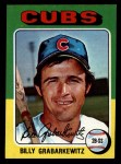 1975 Topps Mini #233  Billy Grabarkewitz  Front Thumbnail