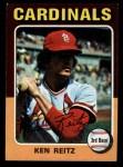 1975 Topps Mini #27  Ken Reitz  Front Thumbnail