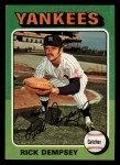 1975 Topps Mini #451  Rick Dempsey  Front Thumbnail