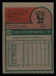 1975 Topps Mini #504  Buddy Bradford  Back Thumbnail