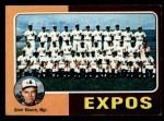 1975 Topps Mini #101   -  Gene Mauch Expos Team Checklist Front Thumbnail