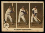 1959 Fleer #73   -  Ted Williams Hitting Fundamentals #3 Front Thumbnail
