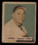 1949 Bowman #207  Johnny Hopp  Front Thumbnail