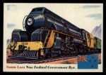 1955 Topps Rails & Sails #18   Steam Locomotive Front Thumbnail