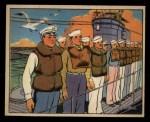 1941 Gum Inc Uncle Sam #60   Abandon Submarine Drill Front Thumbnail