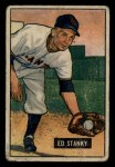 1951 Bowman #13  Eddie Stanky  Front Thumbnail