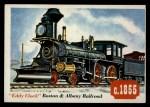 1955 Topps Rails & Sails #63   Eddy Clock Front Thumbnail