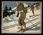 1941 Gum Inc Uncle Sam #52   Ski Troops And Patrols Front Thumbnail