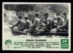 1966 Philadelphia Green Berets #39   Tough Training Front Thumbnail