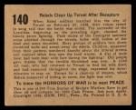 1938 Gum Inc. Horrors of War #140   Rebels Clean Up Teruel After Recapture Back Thumbnail