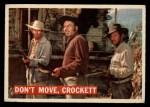 1956 Topps Davy Crockett #36   Don't Move Front Thumbnail