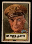 1952 Topps Look 'N See #41  Dwight Eisenhower  Front Thumbnail