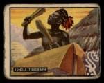 1950 Topps Bring Em Back Alive #31   Jungle Telegraph Front Thumbnail