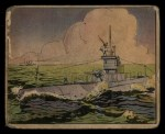 1941 Gum Inc Uncle Sam #59   Submarine Battle Drill Front Thumbnail