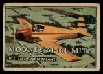 1952 Topps Wings #195   Mooney M-18L Mite Front Thumbnail