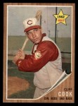 1962 Topps #41  Cliff Cook  Front Thumbnail