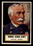 1952 Topps Look 'N See #93  Admiral George Dewey  Front Thumbnail