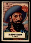 1952 Topps Look 'N See #123  Sir Henry Morgan  Front Thumbnail