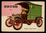 1954 Topps World on Wheels #21   Brush Panel Delivery 1911 Front Thumbnail