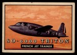 1952 Topps Wings #107   SO-6000 Triton Front Thumbnail