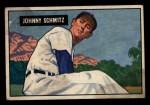 1951 Bowman #69  Johnny Schmitz  Front Thumbnail