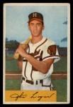 1954 Bowman #80 ERR Johnny Logan  Front Thumbnail
