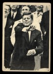 1964 Topps JFK #62   JFK tosses Out The First Ball Front Thumbnail