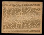 1939 Gumakers of America True Spy Stories #2   The Vanishing Airplane Back Thumbnail
