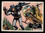 1966 Topps Batman Black Bat #37   Trap for Batman Front Thumbnail