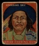 1933 Goudey Indian Gum #107  Sounding Sky   Front Thumbnail