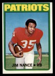 1972 Topps #183  Jim Nance  Front Thumbnail