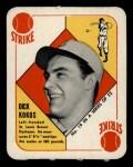 1951 Topps Red Back #19  Dick Kokos  Front Thumbnail