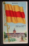 1911 Flags of All Nations T59 #9 REC  Baden Front Thumbnail
