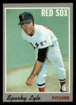 1970 Topps #116  Sparky Lyle  Front Thumbnail