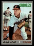 1970 Topps #182  Dick Hall  Front Thumbnail