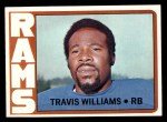 1972 Topps #318  Travis Williams  Front Thumbnail