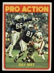 1972 Topps #262   -  Ray May Pro Action Front Thumbnail