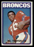 1972 Topps #24  Bill Thompson  Front Thumbnail