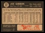 1964 Topps Venezuelan #307  Joe Gibbon  Back Thumbnail