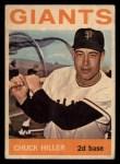 1964 Topps Venezuelan #313  Chuck Hiller  Front Thumbnail