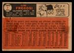 1966 Topps Venezuelan #5  Jim Fregosi  Back Thumbnail