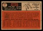 1966 Topps Venezuelan #327  Bernie Allen  Back Thumbnail