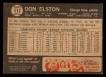 1964 Topps Venezuelan #111  Don Elston  Back Thumbnail