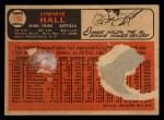 1966 Topps Venezuelan #190  Jimmie Hall  Back Thumbnail