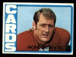 1972 Topps #161  Jackie Smith  Front Thumbnail