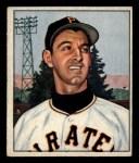 1950 Bowman #201  Pete Castiglione  Front Thumbnail