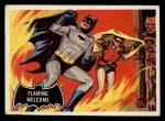 1966 Topps Batman Black Bat #51   Flaming Welcome Front Thumbnail