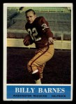 1964 Philadelphia #183  Bill Barnes   Front Thumbnail