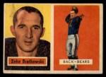 1957 Topps #140  Zeke Bratkowski  Front Thumbnail