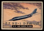 1952 Topps Wings #143   XF 3H-1 Demon Front Thumbnail